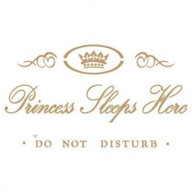Stencil Deco Vintage Composición 056 Princess Sleeps