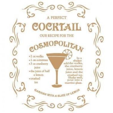 Stencil Deco Vintage Composición 060 Cosmopolitan