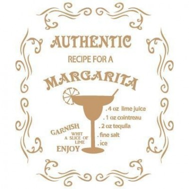 Stencil Deco Vintage Composición 061 Margarita