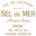 Stencil Deco Vintage Composición 069 Sel De Mer