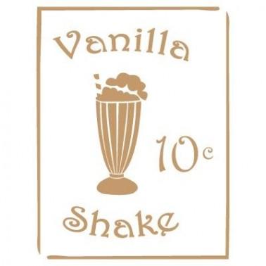 Stencil Deco Vintage Composición 078 Vainilla Shake