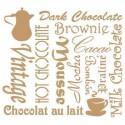 Stencil Deco Vintage Composición 093 Chocolate