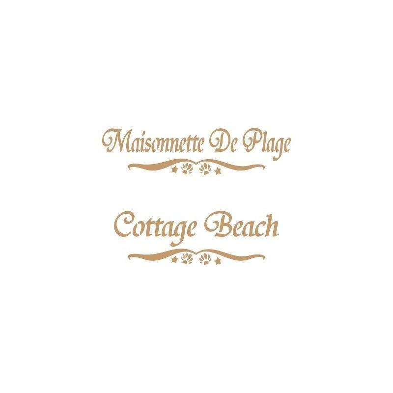 Stencil Deco Vintage Composición 107 Maisonnette