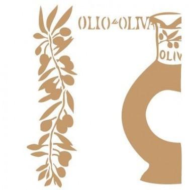 Stencil Deco Vintage Composición 132 Aceite Oliva