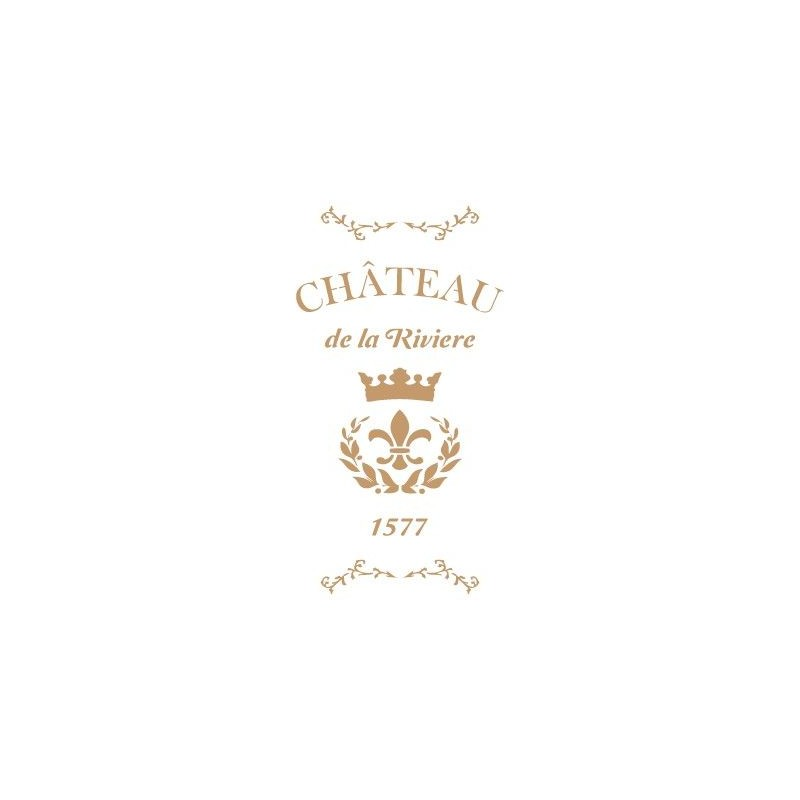 Stencil Deco Vintage Composición 135 Chateau