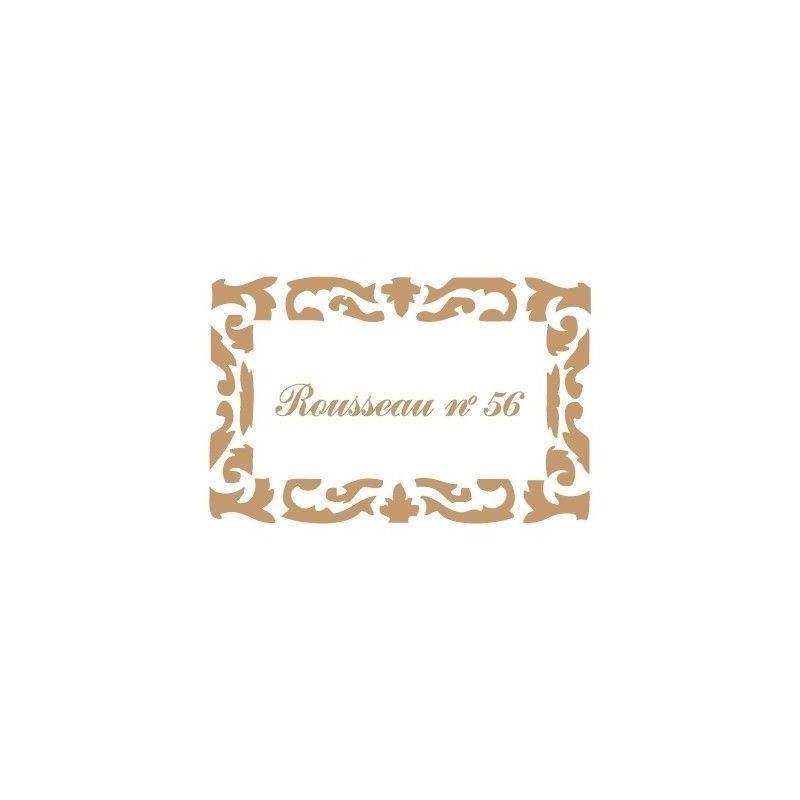 Stencil Deco Vintage Composición 138 Russeau