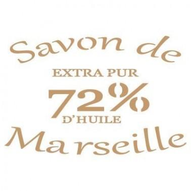 Stencil Deco Vintage Composición 139 Savon Marselle