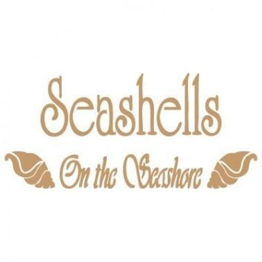 Stencil Deco Vintage Composición 140 Sea Shells