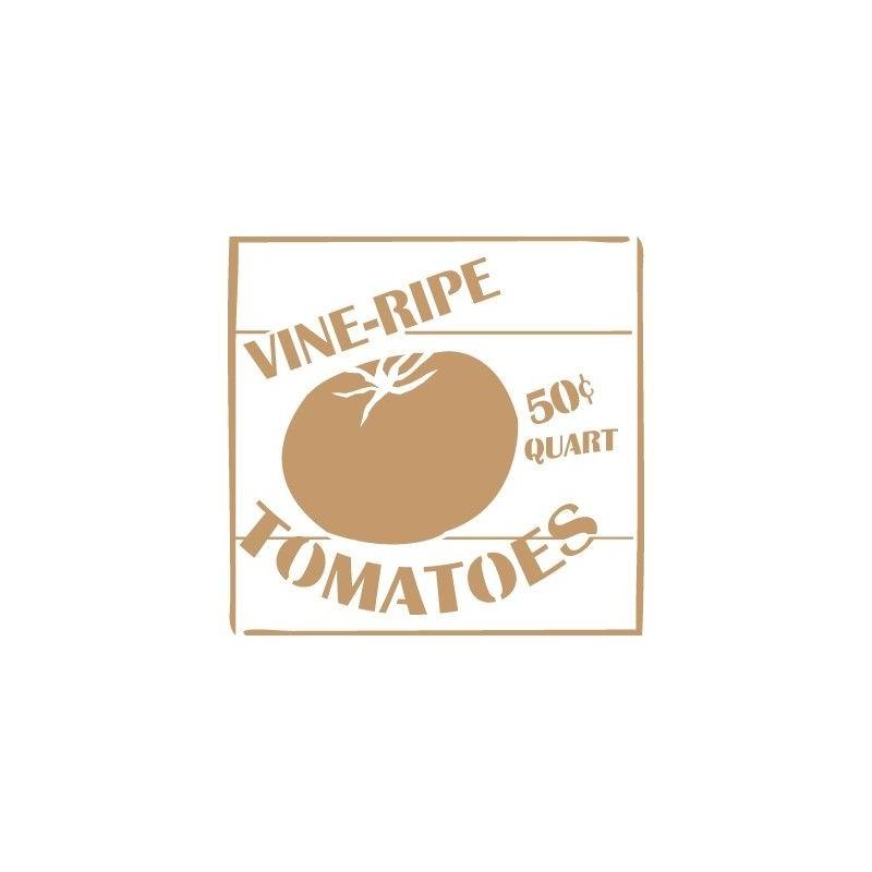 Stencil Deco Vintage Composición 145 Tomatoes