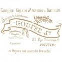 Stencil Deco Vintage Composición 168 Goffe
