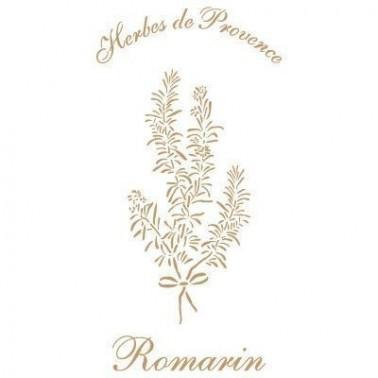 Stencil Deco Vintage Composición 176 Romarin