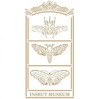 Stencil Deco Vintage Composición 200 Insectos