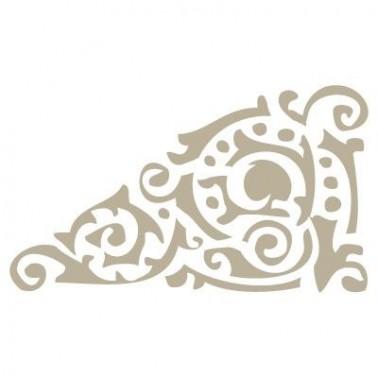 Stencil Mini Deco Cenefa 015