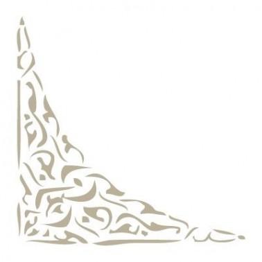 Stencil Mini Deco Cenefa 017