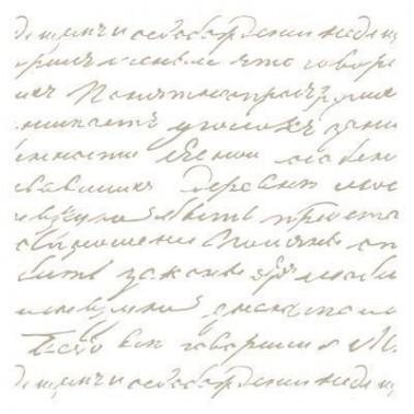 Stencil Mini Deco Fondo 031 Manuscrito
