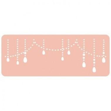 Stencil Reposteria Contornos 012 Perlas
