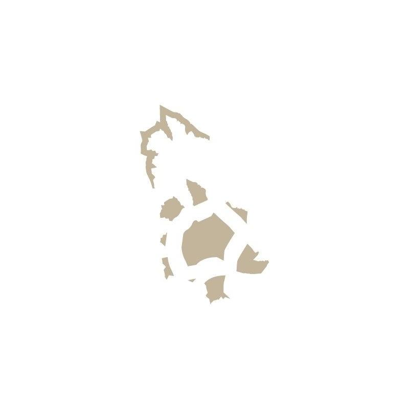 Stencil Aerografia Efectos 006 Metal Desgarrado