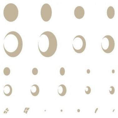 Stencil Aerografia Efectos 007 Gotas de Agua