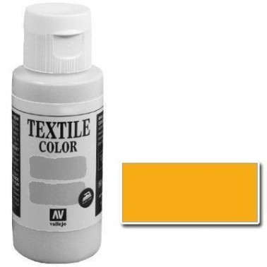 Pintura Vallejo Textil Amarillo Dorado 60ml