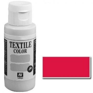 Pintura Vallejo Textil Bermellón 60ml