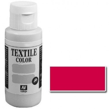 Pintura Vallejo Textil Cereza 60ml