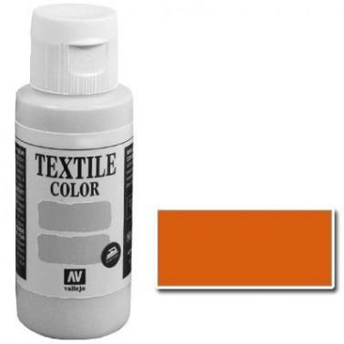 Pintura Vallejo Textil Naranja Vivo 60ml