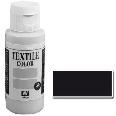 Pintura Vallejo Textil Negro 60ml