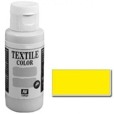 Pintura Vallejo Textil Flúo Amarillo 60ml