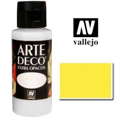 Pintura Vallejo Arte Deco Amarillo Limón