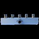 Conector 1/8 a 5 salidas 1/8 con regulador