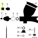 Recambio Tapa de Aguja Aerografo Elite Q5