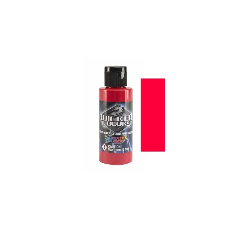 Pintura Aerografia Createx Wicked Rojo