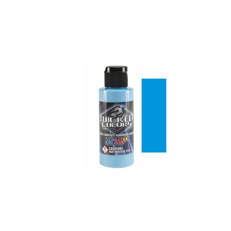 Pintura Aerografia Createx Wicked Azul Laguna