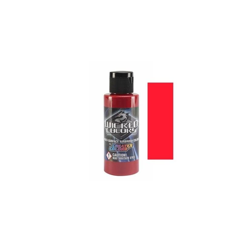 Pintura Aerografia Createx Wicked Rojo Crimson