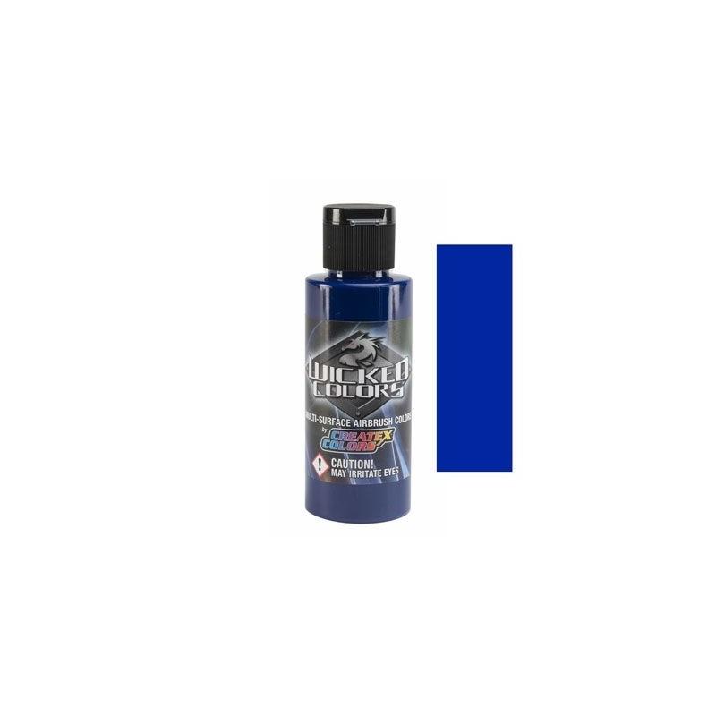 Pintura Aerografia Createx Wicked Detail Azul Cobalto