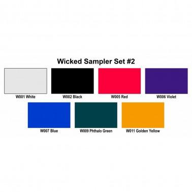 Pintura Aerografia Createx Wicked Sampler Set