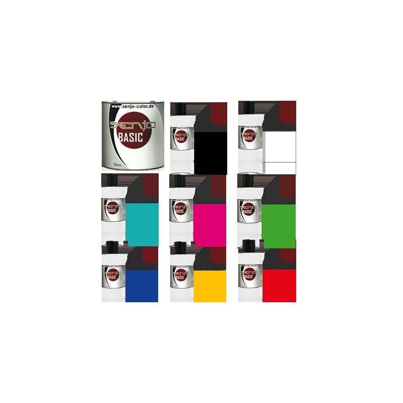 Pintura Aerografia Senjo Bodypaint Kit 8 Colores