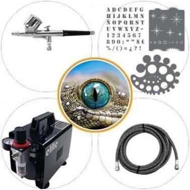 Airbrush Kit 015c Medium Level