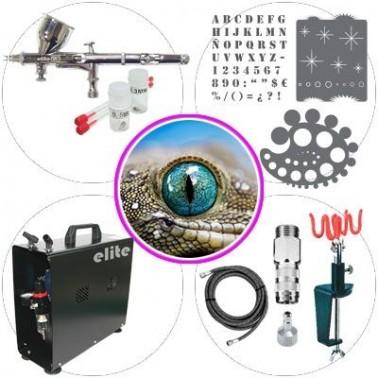 Kit de Aerografía 043b Master