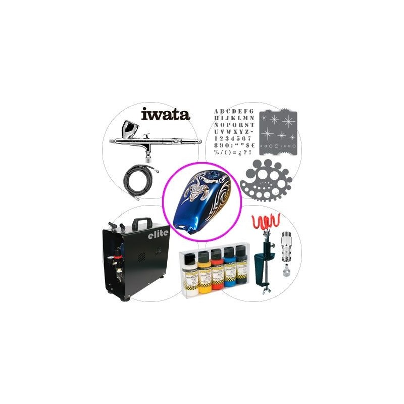 Airbrush Kit 044 Master Automotive