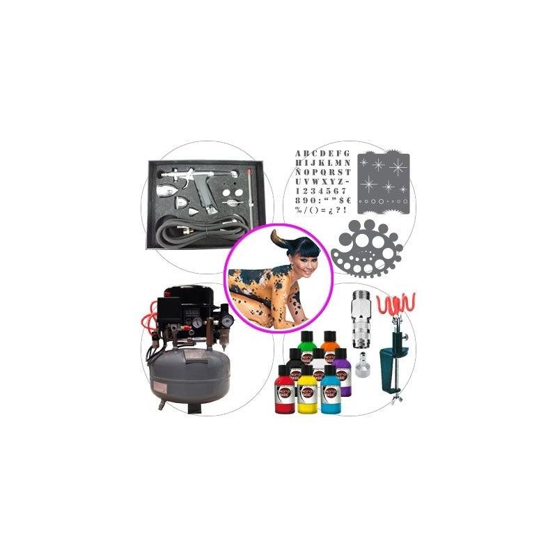 Kit Aerografia 046 Master Bodypaint