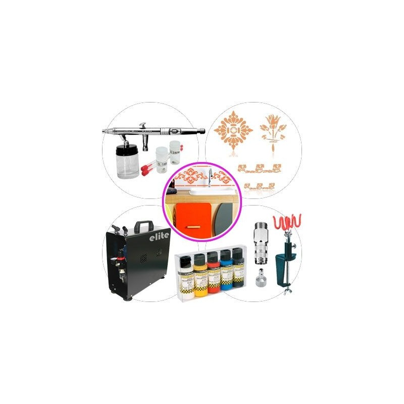 Kit Aerografia 050 Master Manualidades y Restauración