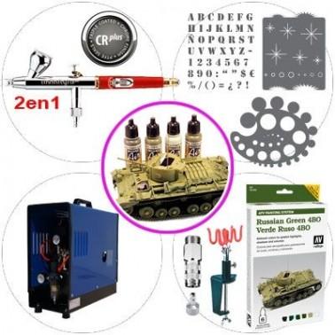 Kit Aerografia 051 Master Modelismo