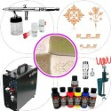 Kit Aerografia 055 Master Textil