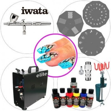 Airbrush Kit 056 Master Nails