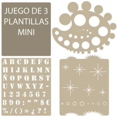 Stencil Aerografia Basico 006 Circulos