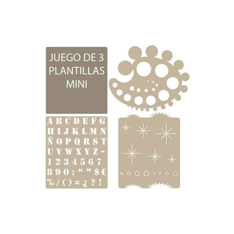 Stencil Aerografia Basico 007 kit