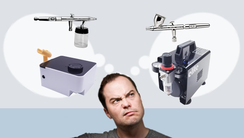 Tutorial de Aerografía - ¿Qué Comprar?